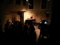 Anaïs Tuerlinckx (inside piano) Tomomi Adachi (live-processing, voice, outside piano) 7th Sep. 2014