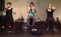TriTop: Sabine Ercklentz, Birgit Ulher and Liz Allbee (Foto: Ute Wasserman)