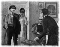 Leonid, Rico, Olaf, unbekannte Frau (v.l.n.r.)