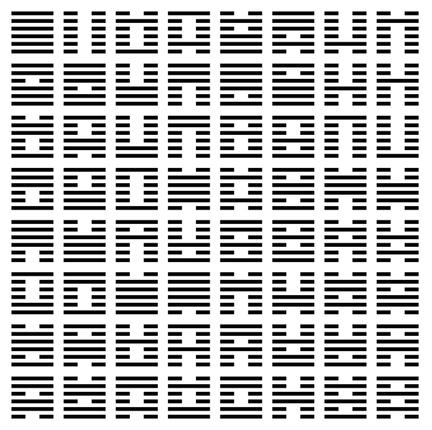 I Ching sheet