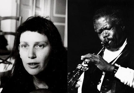 A. Rosenstein (photo by R.Trocker) + Joe McPhee (photo by Steve Robinson)