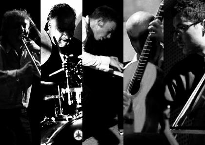Johannes Bauer, Michael Zerang, Louis Rastig, Olaf Rupp, Clayton Thomas