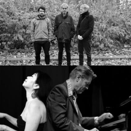 Photo 1: Bistre by Ernesto Rodrigues, Photo2: Piano Duet by Rigobert Dittmann, Bad Alchemy, Deutschland, 61/2009